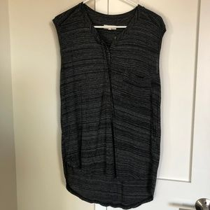 Madewell - Size Large, Navy/Grey Tank